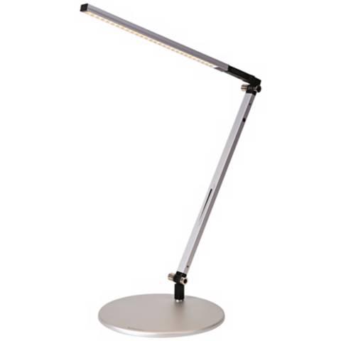 Koncept Gen 3 Z Bar Solo Mini Daylight Led Silver Desk
