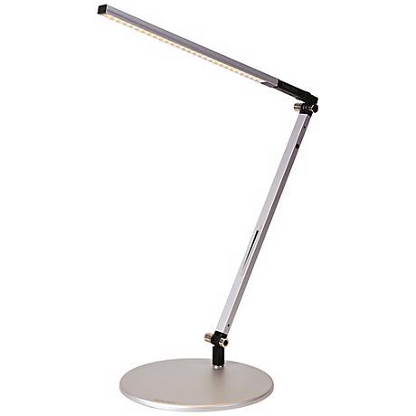 Koncept Gen 3 Z-Bar Solo Mini Daylight LED Silver Desk Lamp
