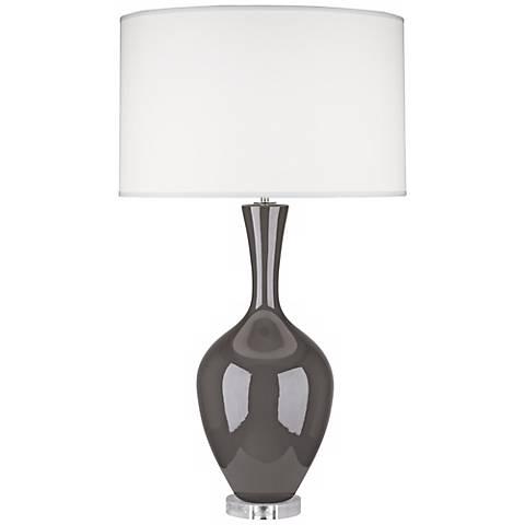 Robert Abbey Audrey Ash Gray Buffet Lamp