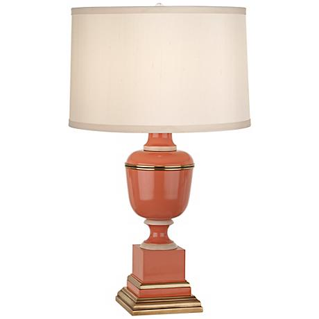 Mary McDonald Annika Tangerine and Cloud Cream Accent Lamp