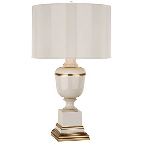 Mary McDonald Annika Ivory and Brass Table Lamp