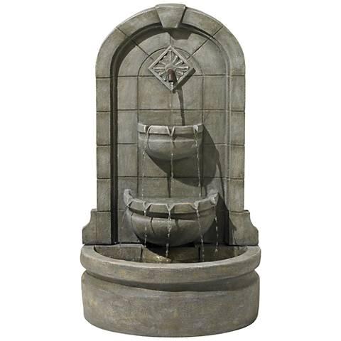 """Essex Spigot 41 1/2"""" High Three Tier Floor Fountain"""