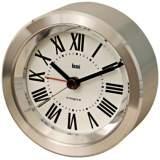 Astor Roman Aluminum Travel Alarm Clock
