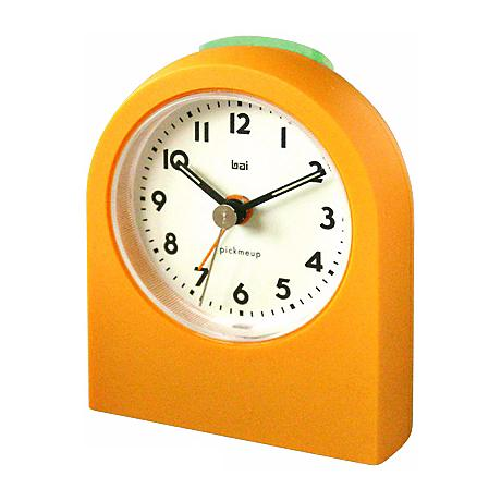 Pick-Me-Up Orange Alarm Clock