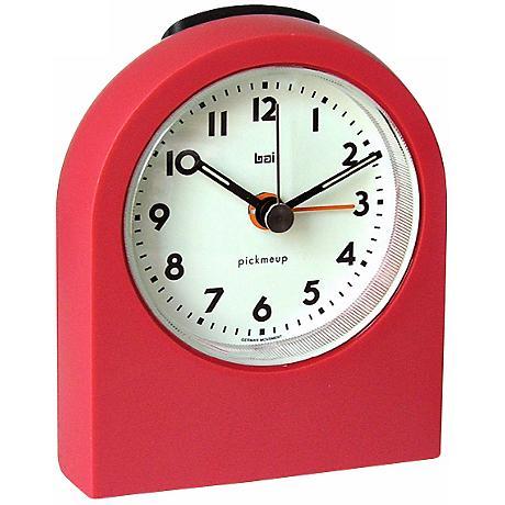 Pick-Me-Up Red Alarm Clock