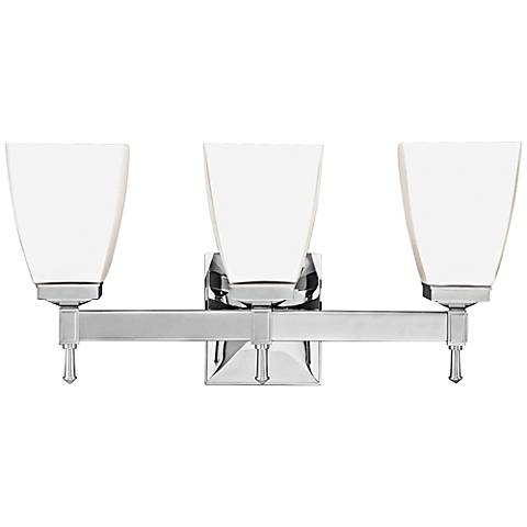 "Hudson Valley Kent 3-Light 18"" Wide Chrome Bath Light"
