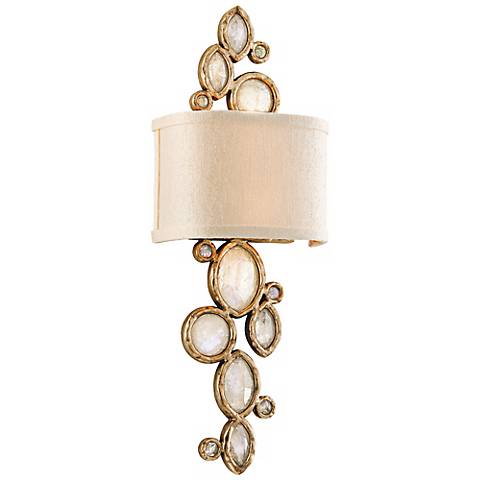 "Corbett Fame & Fortune 23 1/4"" High Crystal Wall Sconce"