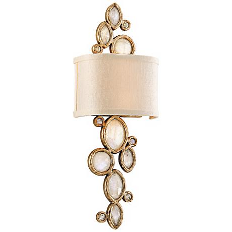 """Corbett Fame & Fortune 23 1/4"""" High Crystal Wall Sconce"""