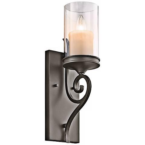 Lamps Plus Bronze Wall Sconce : Kichler Lara 16 1/4