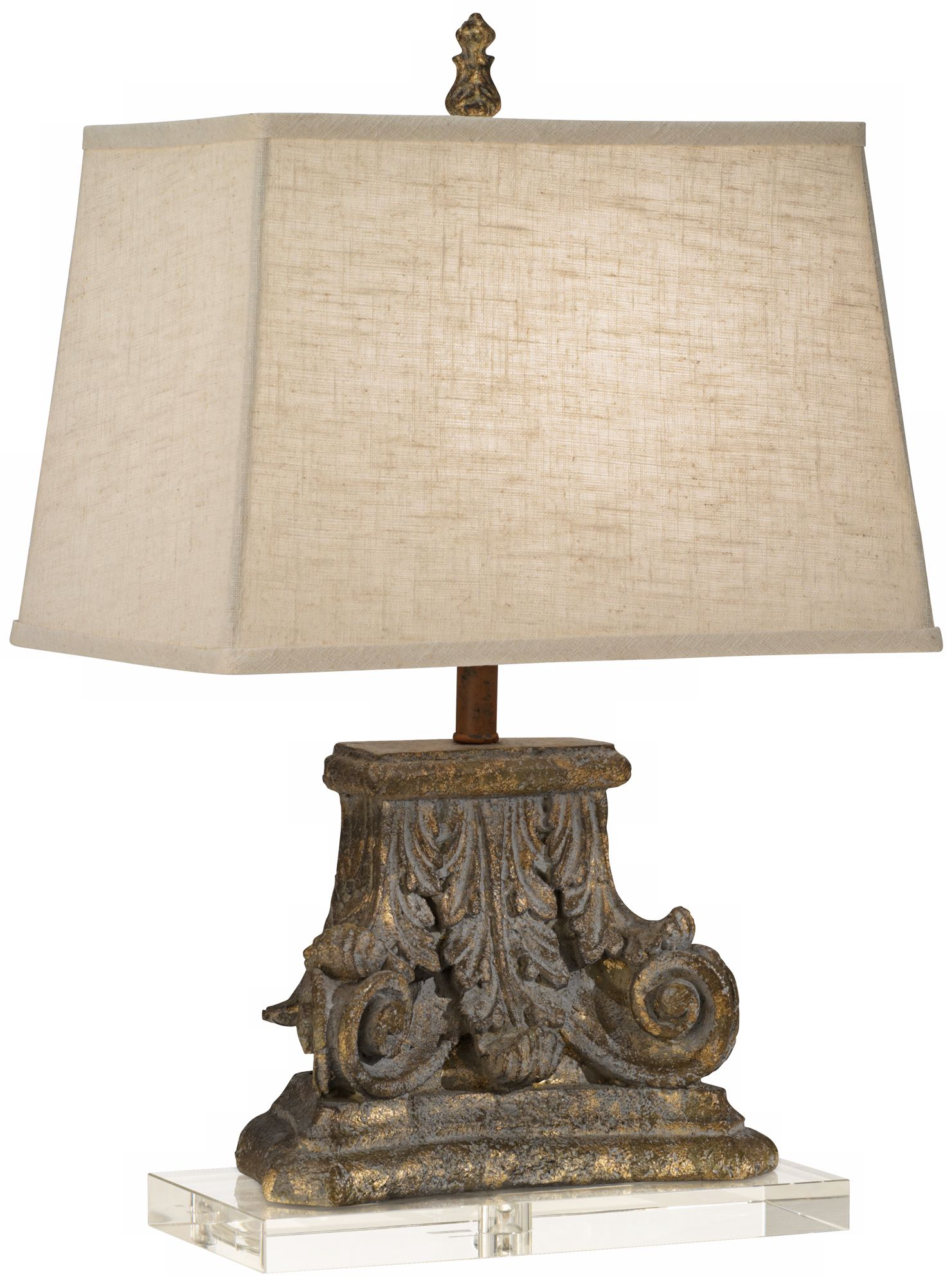 Regina Andrew Design Capitol Crystal Base Table Lamp