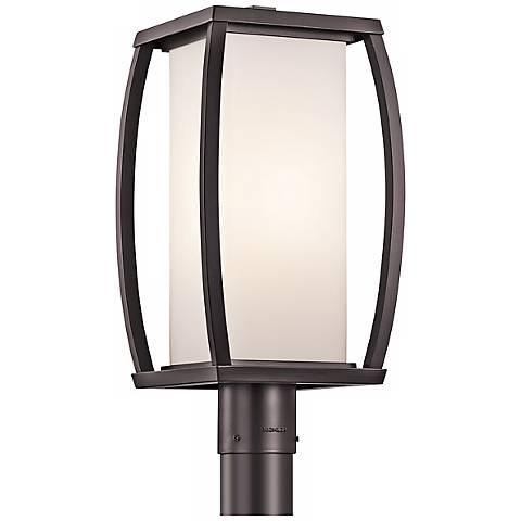 """Kichler Bowen 18 1/2"""" High Bronze Outdoor Post Light"""