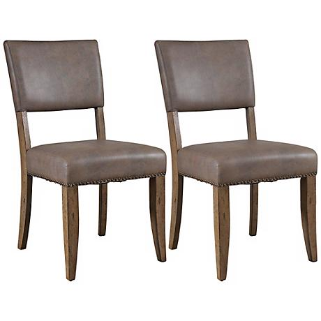 View Clearance Items Faux Leather Furniture