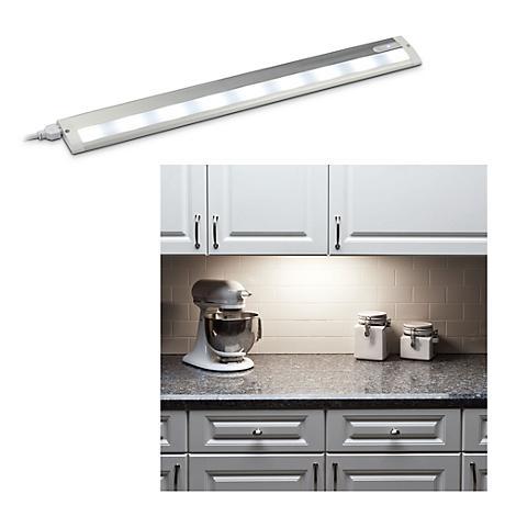 "LED 24"" Wide Aluminum White Under Cabinet Light"
