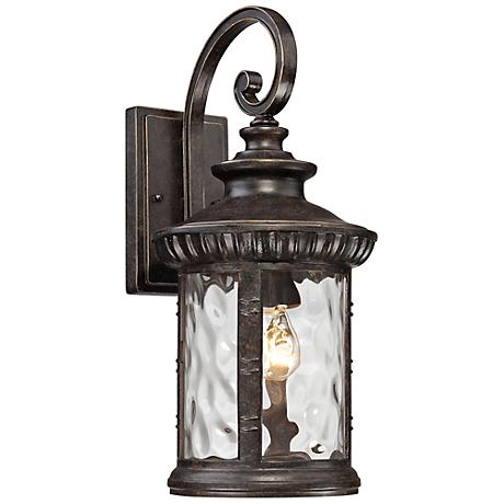 """Quoizel Chimera 9"""" Wide Imperial Bronze Outdoor Wall Light"""