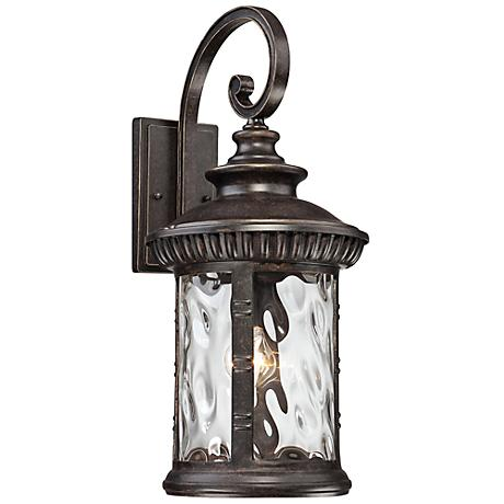 """Quoizel Chimera 11"""" Wide Imperial Bronze Outdoor Wall Light"""