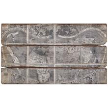 "Uttermost 47"" Wide Map of the City Wall Art"