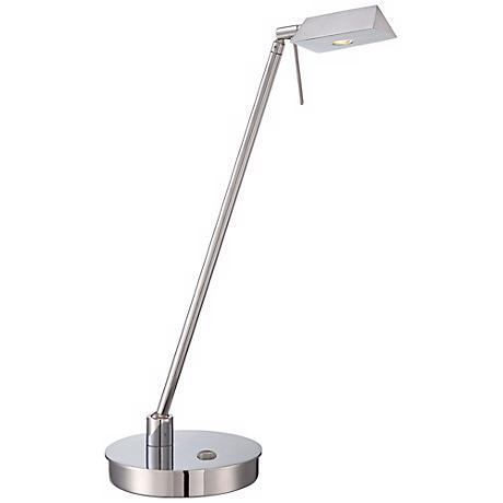 George Kovacs Chrome Tented LED Desk Lamp