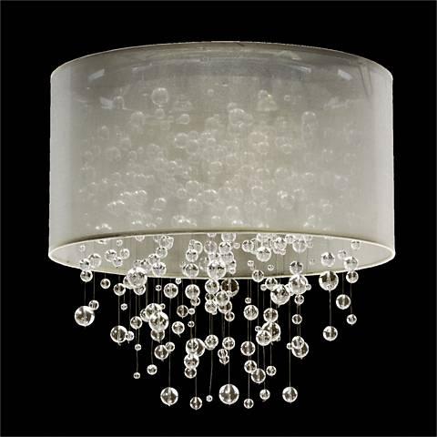 Silhouette 5-Light Sheer Organza Shade Ceiling Light - #W4019 ...
