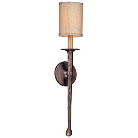 Lamps Plus Bronze Wall Sconce : Faulkner 24