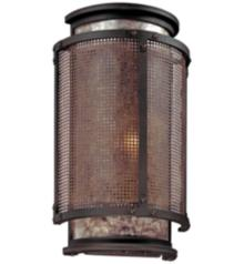 """Copper Mountain Bronze 14"""" High Wall Sconce"""