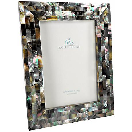 Black Mother of Pearl 5x7 Photo Frame
