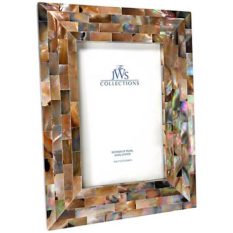 Wing Oyster Shell 4x6 Picture Frame