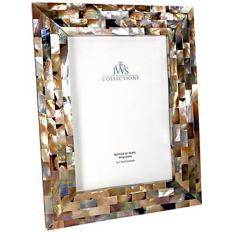 Wing Oyster Shell 5x7 Picture Frame