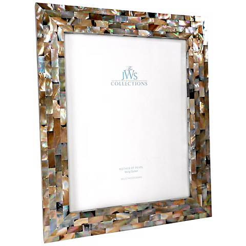 Wing Oyster Shell 8x10 Picture Frame