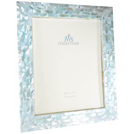 Blue Mother Of Pearl 8x10 Frame W4971 Lamps Plus