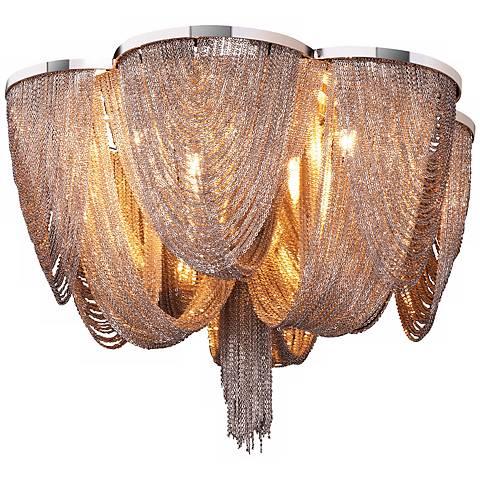 """Maxim Chantilly 18"""" Wide Flush Mount Ceiling Light"""