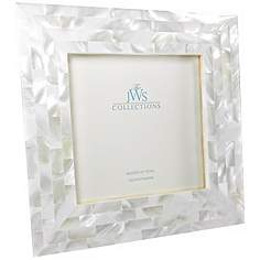 white mother of pearl 5x5 photo frame - Mother Of Pearl Picture Frame