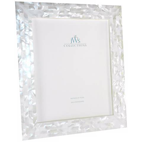 white mother of pearl 8x10 photo frame - Mother Of Pearl Picture Frame
