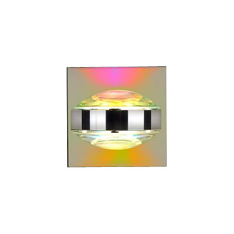 """Besa Optos 3 1/2"""" Wide Chrome Cool and Warm Wall Sconce"""