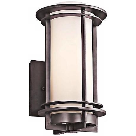 """Kichler Pacific Edge 10 1/2"""" High Bronze Outdoor Wall Sconce"""