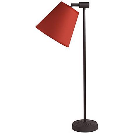 Lights Up! Zoe Burnish Chintz Antique Iron Desk Lamp
