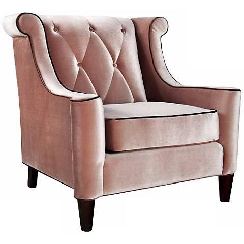 Barrister Caramel Velvet Club Chair