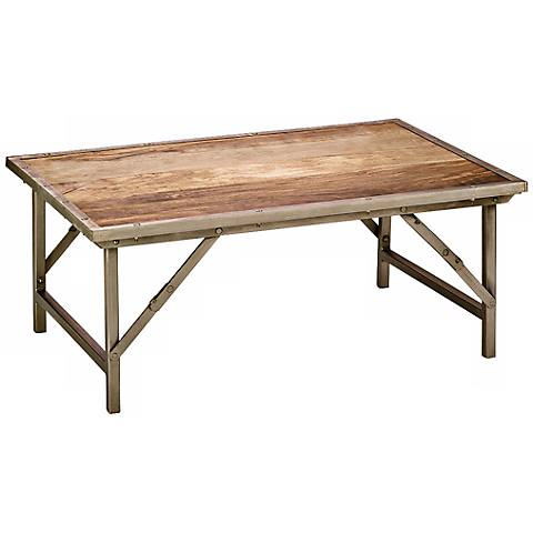 Jamie Young Campaign Folding Coffee Table