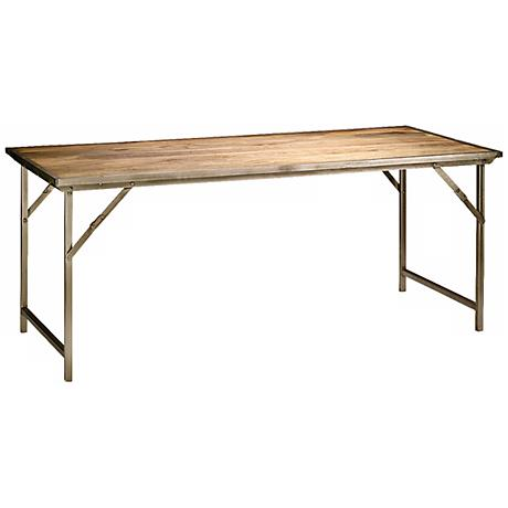 Jamie Young Campaign Folding Dining Table