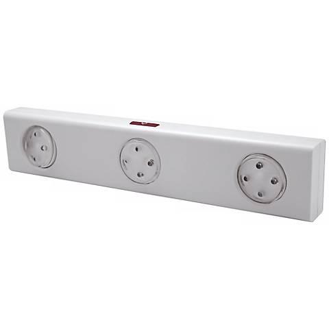 "Rite Lite White 12 LED 11 3/4"" Remote Under Cabinet Light"