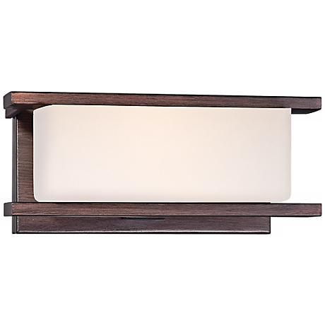 """Facet Tuscana 9"""" Wide Wall Sconce"""