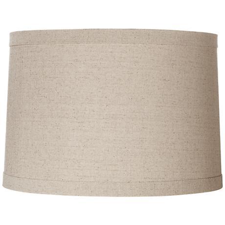 Springcrest™ Natural Linen Drum Shade 15x16x11 (Spider)