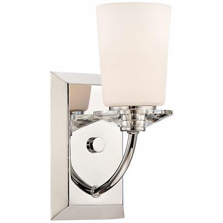"""Palatial 4 3/4"""" Wide Chrome Wall Sconce"""