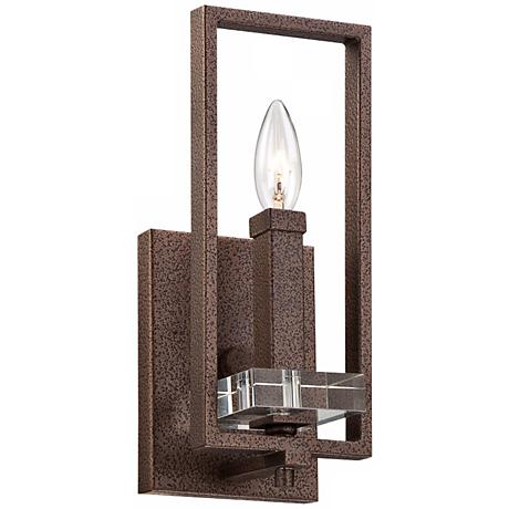 """Fieldhouse 13"""" High Bronze Wall Sconce"""