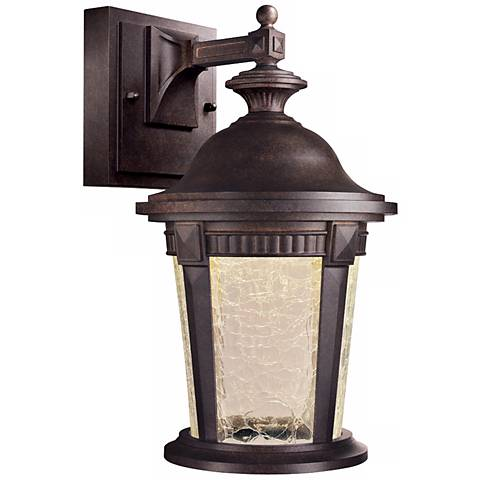 "Whitmore 12 1/4"" High Mystic Bronze Outdoor LED Wall Light"