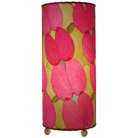 """Eangee 16"""" high Pink Butterfly Uplight Accent Table Lamp"""