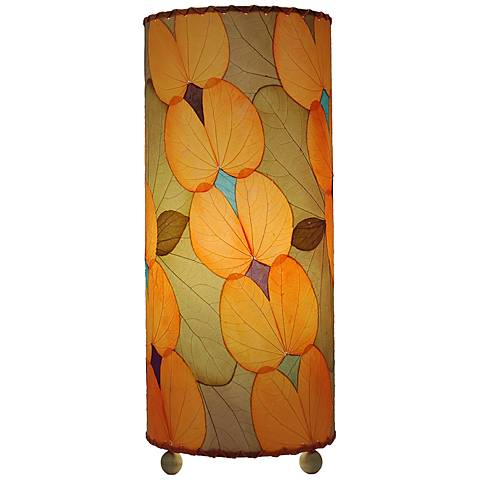 """Eangee 16""""H Orange Butterfly Uplight Accent Table Lamp"""
