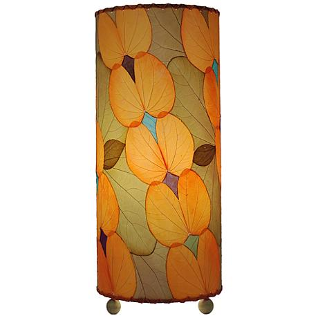Eangee Orange Butterfly Uplight Table Lamp
