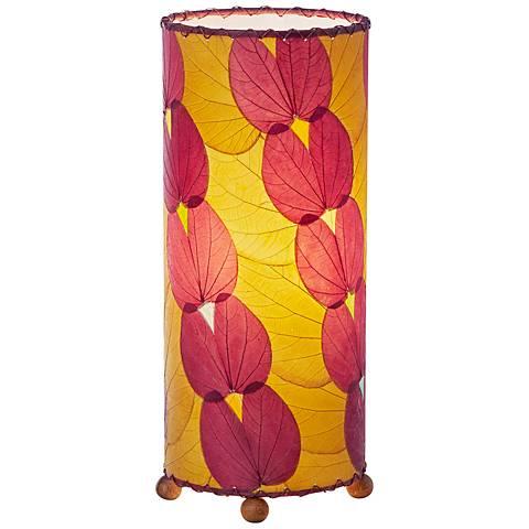 Eangee Purple Butterfly Uplight Table Lamp