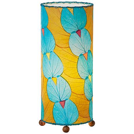 Eangee Sea Blue Butterfly Uplight Table Lamp