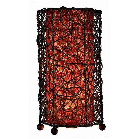 Eangee Durian Uplight Red Accent Lamp